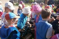 Policisté navštívili děti z mateřských škol na Kladensku